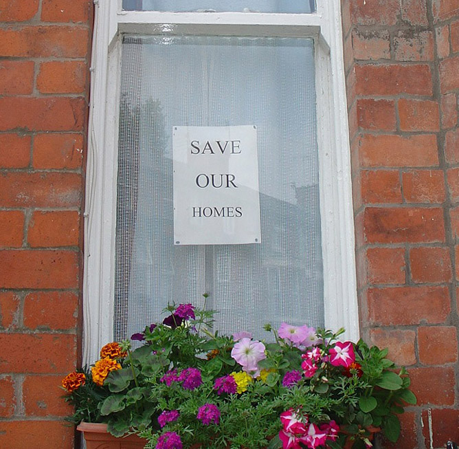 Save Our Homes summer 06 in Kelvin Grove